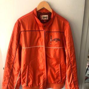 LEVIS orange wind breaker jacket